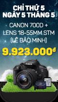 Canon 700D_Stick