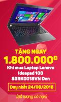 Tặng 1.800.000đ khi mua Laptop Lenovo