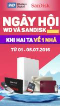 Ngày hội WD - Sandisk