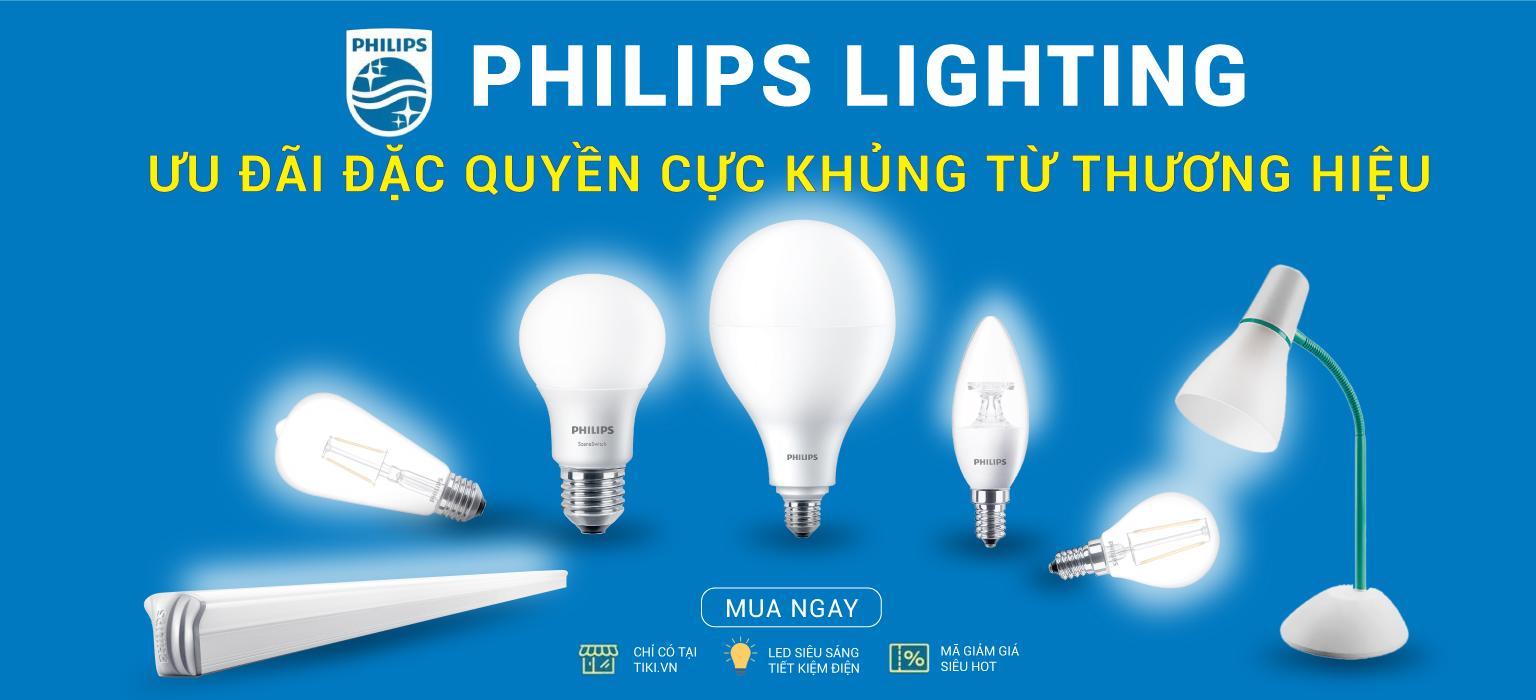 Philips Lighting - Ưu Đãi Đặc Quyền Cực Khủng Từ Thương Hiệu [CLICK NGAY]