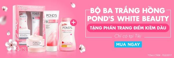 Bộ ba trắng hồng Pond's Beauty White
