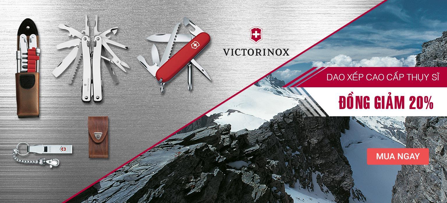 Victorinox Dao xếp Thụy Sĩ I Đồng giảm 20%