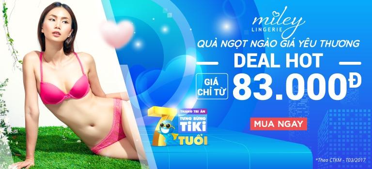 Miley Lingerie | Đồng giá 142K [CLICK NGAY]