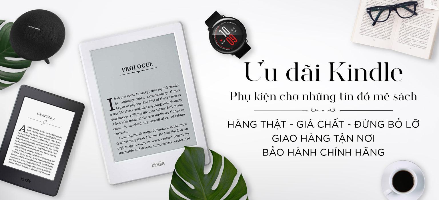 Ưu đãi Kindle - Phụ kiện cho những tín đồ mê sách   [XEM NGAY]