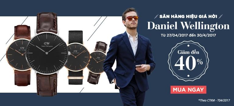 Đồng hồ hàng hiệu Daniel Wellington [CLICK NGAY]