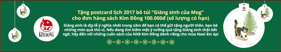 Vui giáng sinh cùng sách Kim Đồng