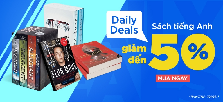 Daily Deals sách tiếng anh giảm đến 50% [CLICK NGAY]