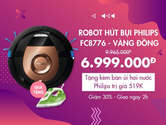 Robot Hút Bụi Philips FC8776