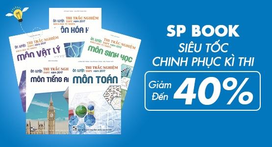 SP Book - Siêu Tốc Chinh Phục Kì Thi - Giảm Đến 40 %