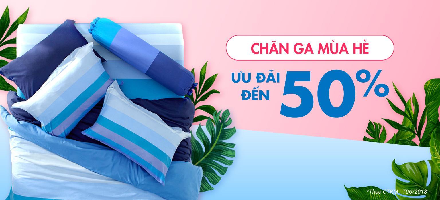CHĂN GA MÙA HÈ | ƯU ĐÃI ĐẾN 50% [XEM NGAY]
