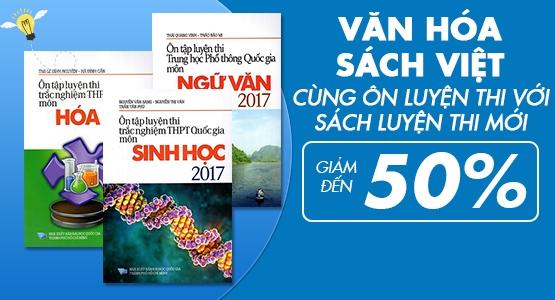 Văn Hóa Sách Việt - Cùng Ôn Luyện Thi với  Sách Luyện Thi Mới - Giảm Đến 50 %