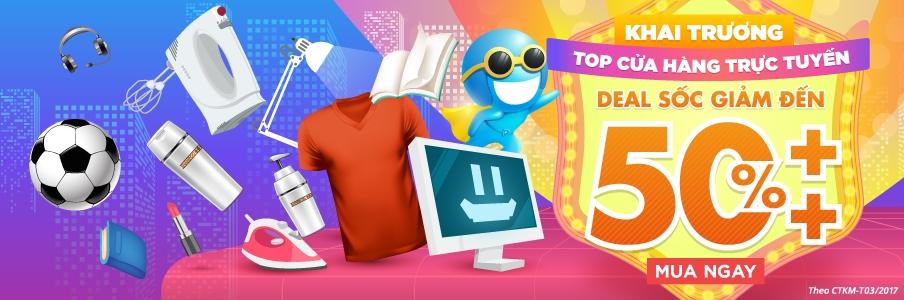 Khai trương TOP cửa hàng trực tuyến