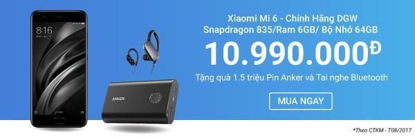 Xiaomi Mi 6 - Chính Hãng DGW