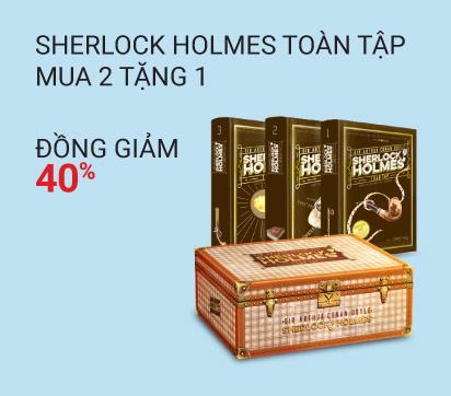 Sherlock Holmes_Mua2 tặng 1