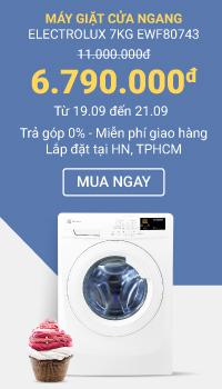 flash sale máy giặt