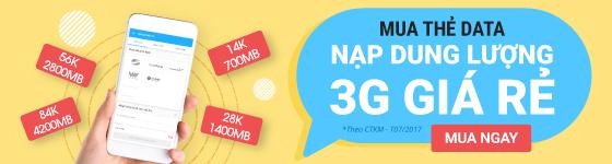 Nạp thẻ 3G/4G