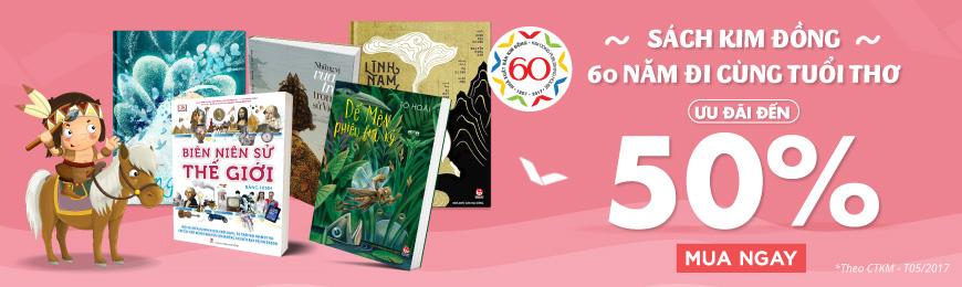 Tiki khuyến mãi sách Kim Đồng