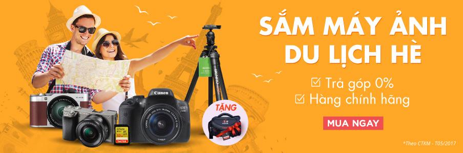 Sắm máy ảnh hè
