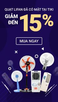 Ra mắt thương hiệu quạt Lifan giảm đến 15 %