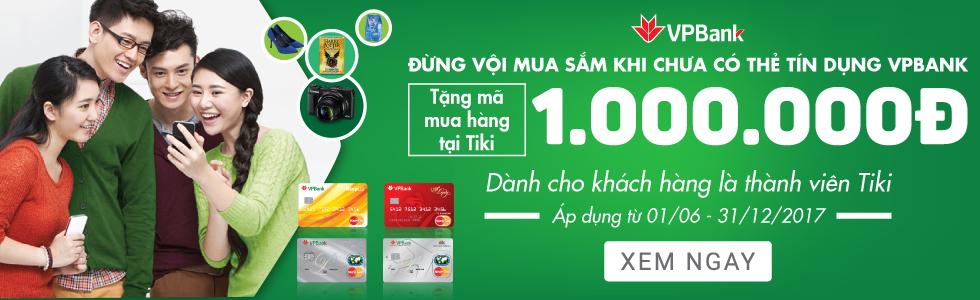 Mở thẻ VPBank tặng đến 1.000.000đ