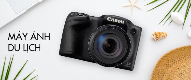 Canon - Máy ảnh du lịch giá rẻ