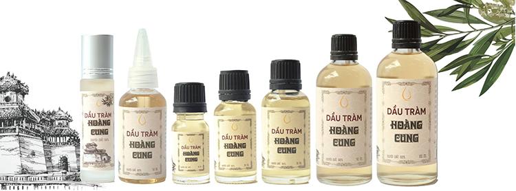 Bộ 4 chai tinh dầu tràm Huế - dầu tràm Hoàng Cung 20ml 1