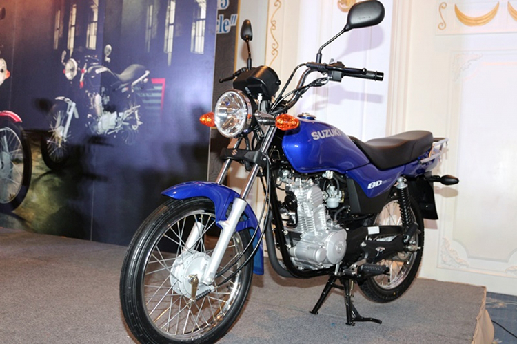 Xe Máy Suzuki GD 110 HU (Xanh dương)