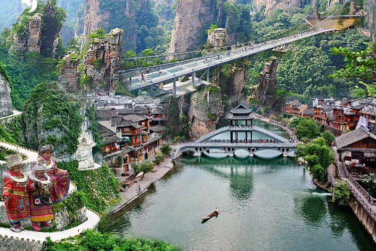 Tour Hà Nội - Trương Gia Giới - Phù Dung Trấn - Phượng Hoàng Cổ Trấn 6 Ngày 5 Đêm, Khách Sạn 4 Sao 10