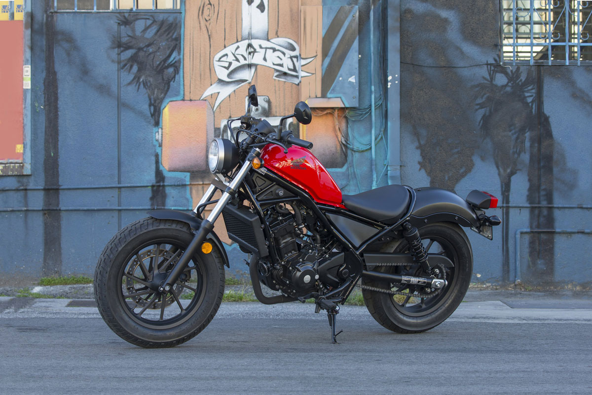 Xe Máy Honda Motor Rebel 300 - Đỏ=118.660.000đ