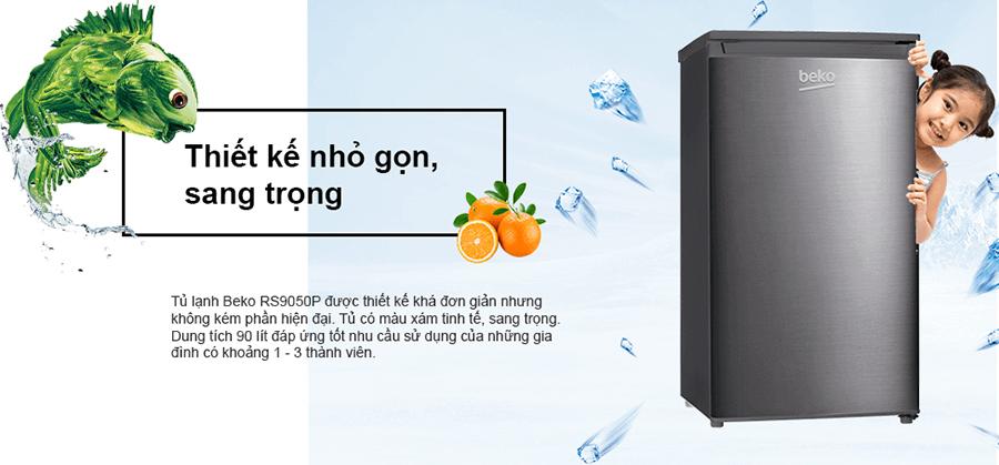 Tủ Lạnh Mini Beko RS9050P (90L)  = 2.750.000 ₫