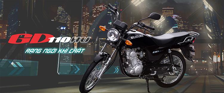 Xe Máy Suzuki GD 110 HU (Đen)