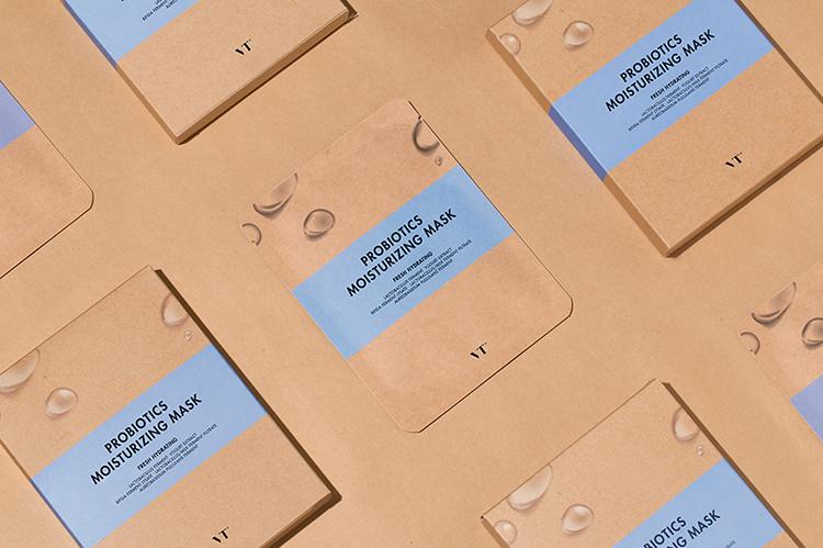 Bộ 5 Mặt Nạ Dưỡng Ẩm VT Probiotics Moisturizing Mask (25g)   Tiki