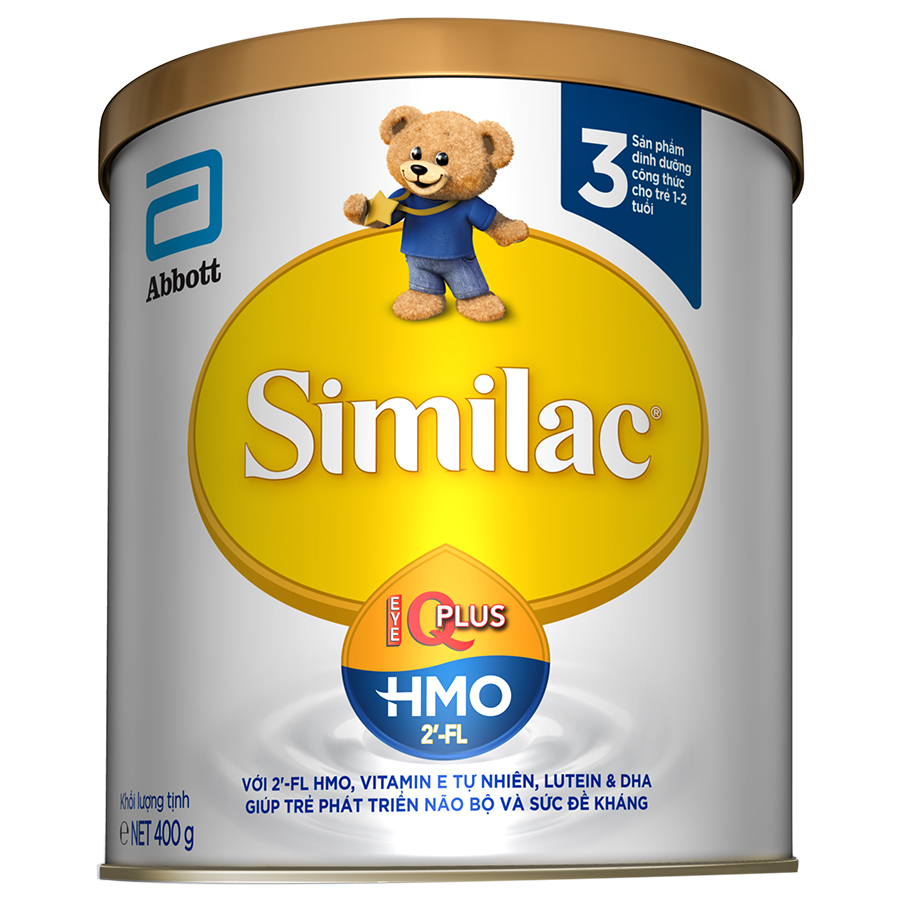 Sữa Bột Abbott Similac IQ3 HMO (400g)
