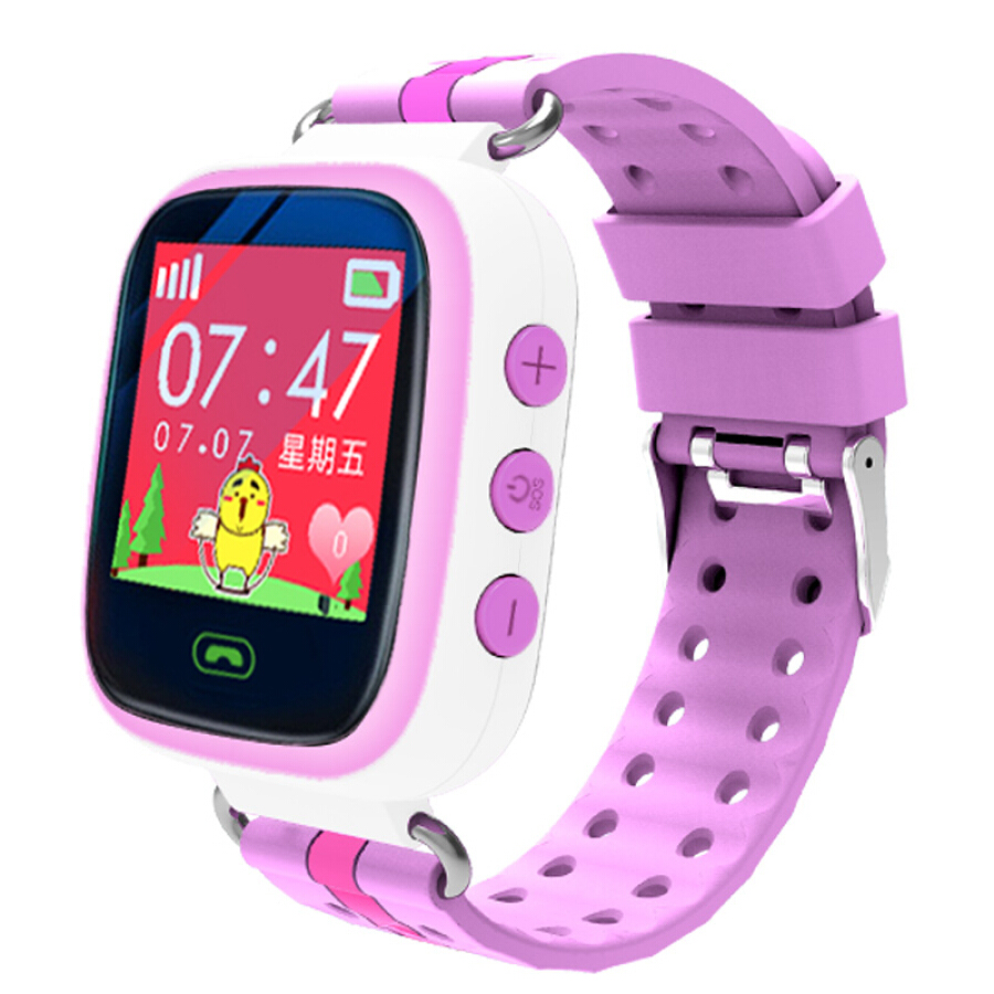 Smart Car Z1 Child Phone Watch Touch Screen Phone Watch Camera Student Orientation Watch Phone Child Smartphone Watch Phone Pink