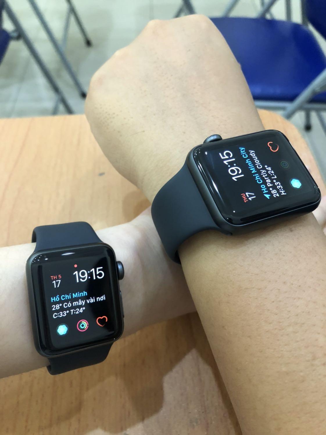 Đồng Hồ Thông Minh Apple Watch Series 3 GPS Aluminum Case With Sport Band - Hàng Chính Hãng VN/A | Tiki
