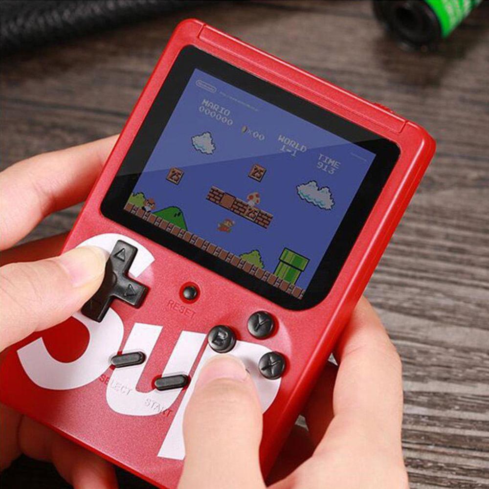 Máy chơi game 4 nút cầm tay G1 Plus 400 trò chơi - Máy chơi Game khác  Thương hiệu OEM