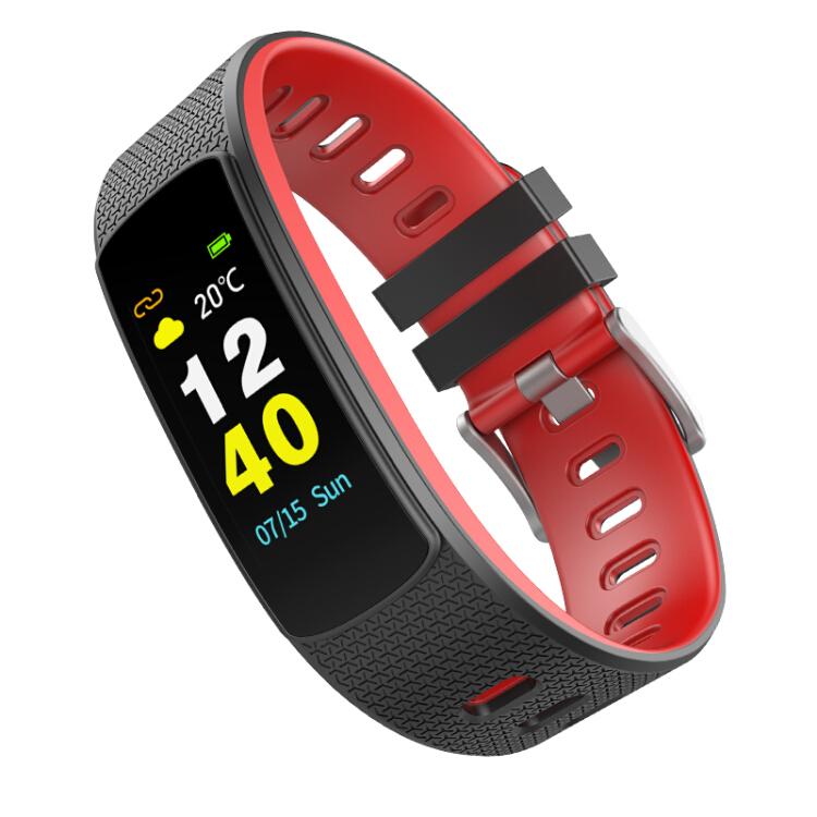 Vòng đeo tay thể thao thông minh tương thích với OPPO, Android, iOS dành cho nam và nữ - Ai Wei (iwown) i6HR-C