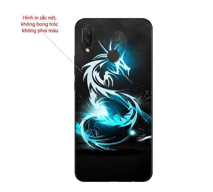 Ốp Lưng Dẻo Cho Điện thoại Huawei Nova 3i - Dragon 03