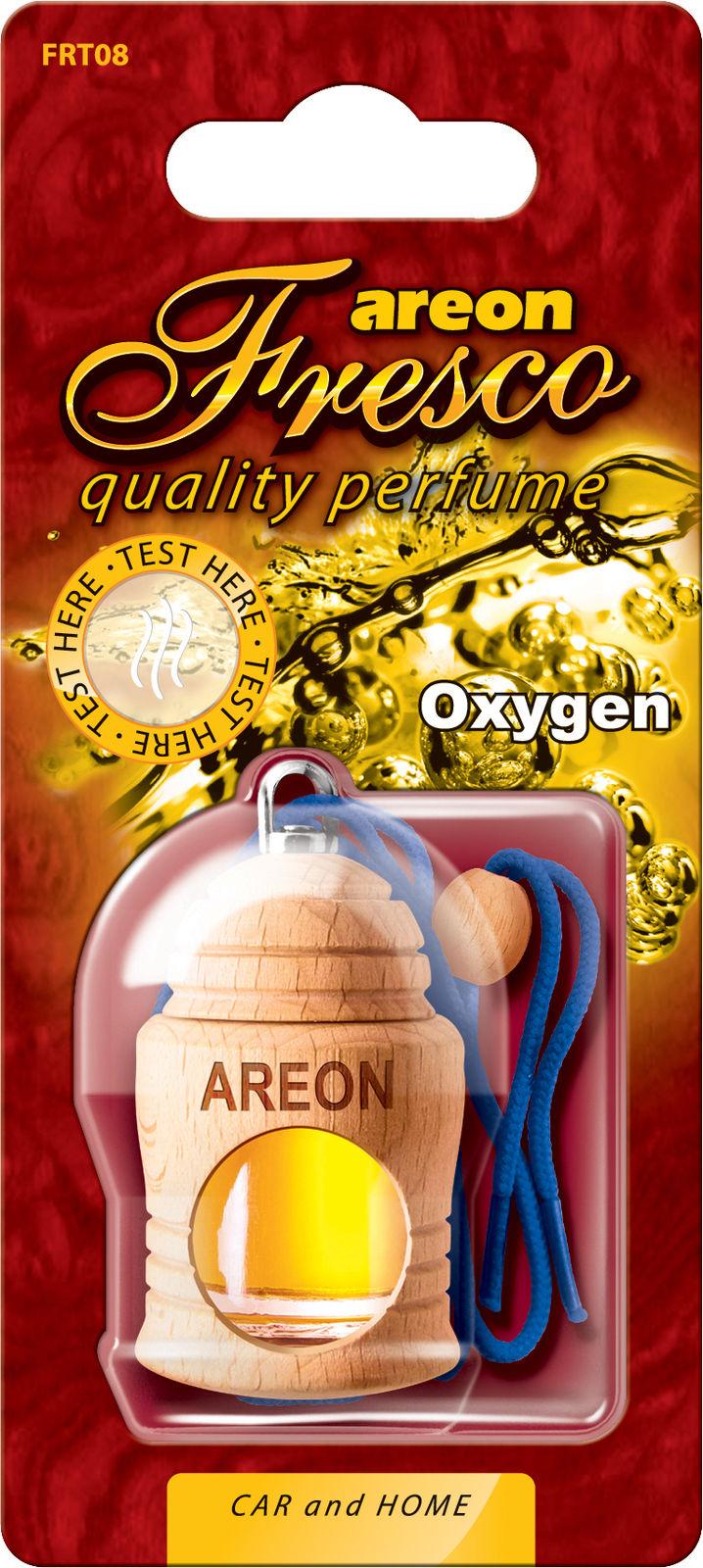 Tinh dầu thiên nhiên AREON treo xe ô tô - Fresco Oxygen (NHẬP KHẨU BULGARIA)