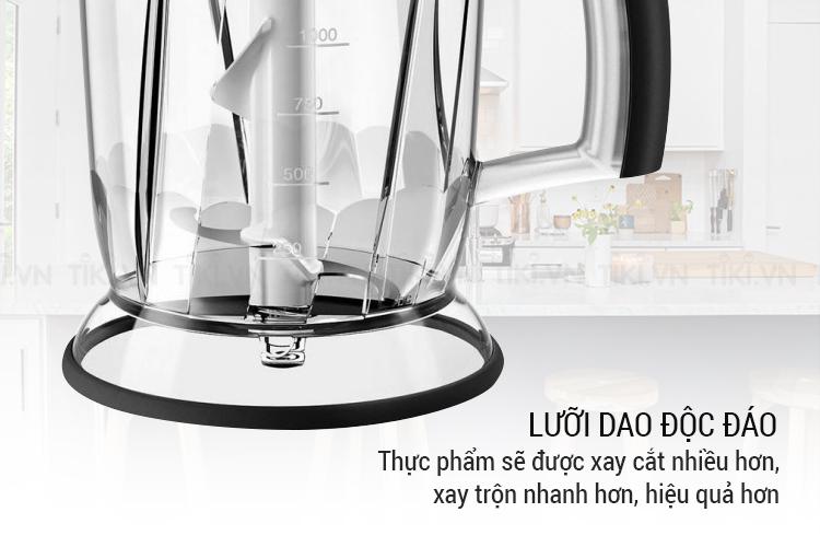 Máy Xay Sinh Tố Cầm Tay Braun MQ3045 Aperitive (700W) – Trắng Xanh