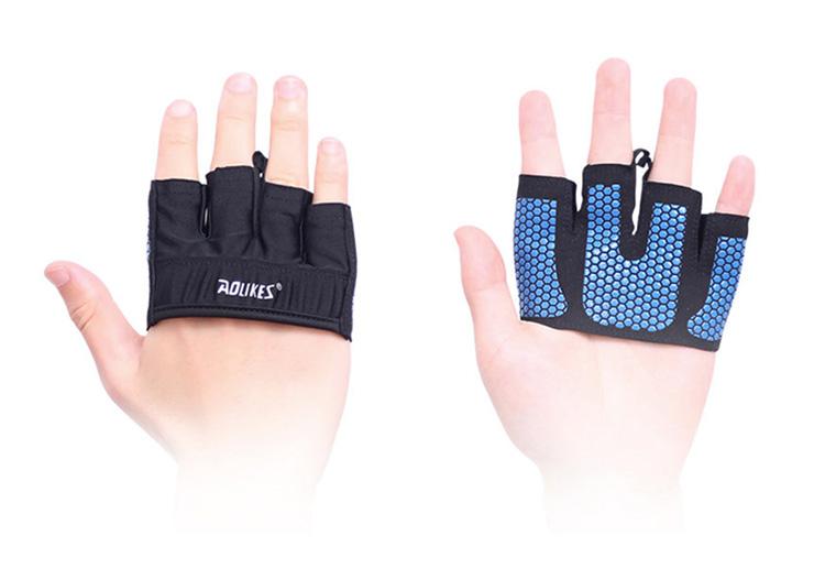 Bộ đôi gang tay xỏ ngón silicone chống trượt Aolikes AL111