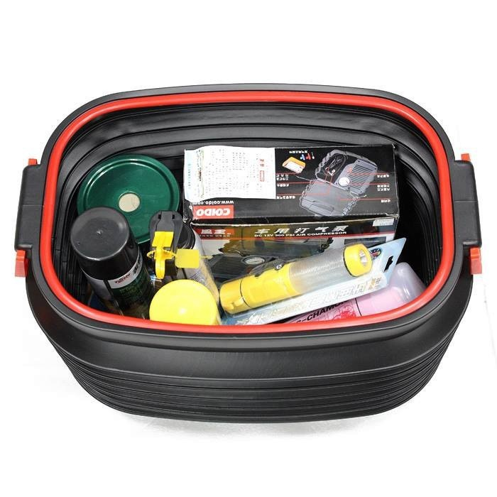 Thùng lò xo đựng dụng cụ để cốp sau xe hơi