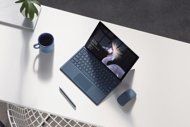 Microsoft FJT-00012 Surface Pro 2017 i5-7300U RAM 4GB SSD 128GB/ Win10 (12.3 inch) - Hàng Chính Hãng (Silver)