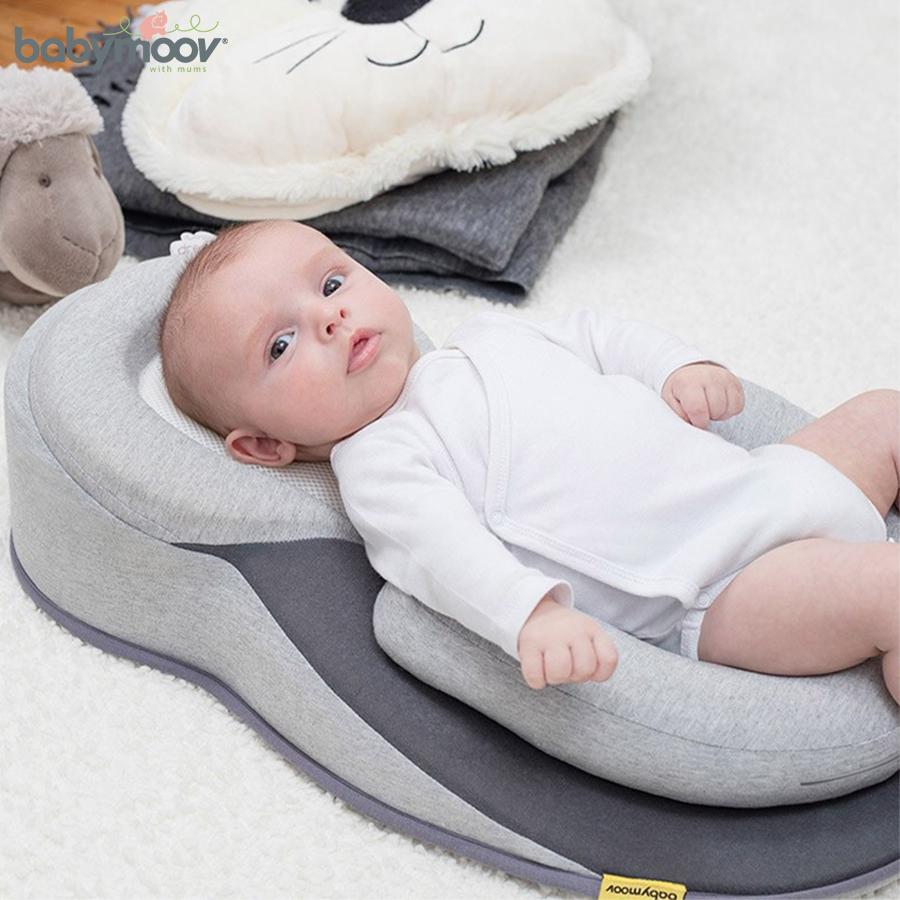 Đệm ngủ đúng tư thế chống trào ngược cho bé BABYMOOV BM14836 (PHÁP)