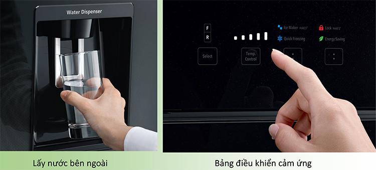 Tủ Lạnh Inverter Hitachi R-FW690PGV7-GBK (540L) = 23.490.000 ₫