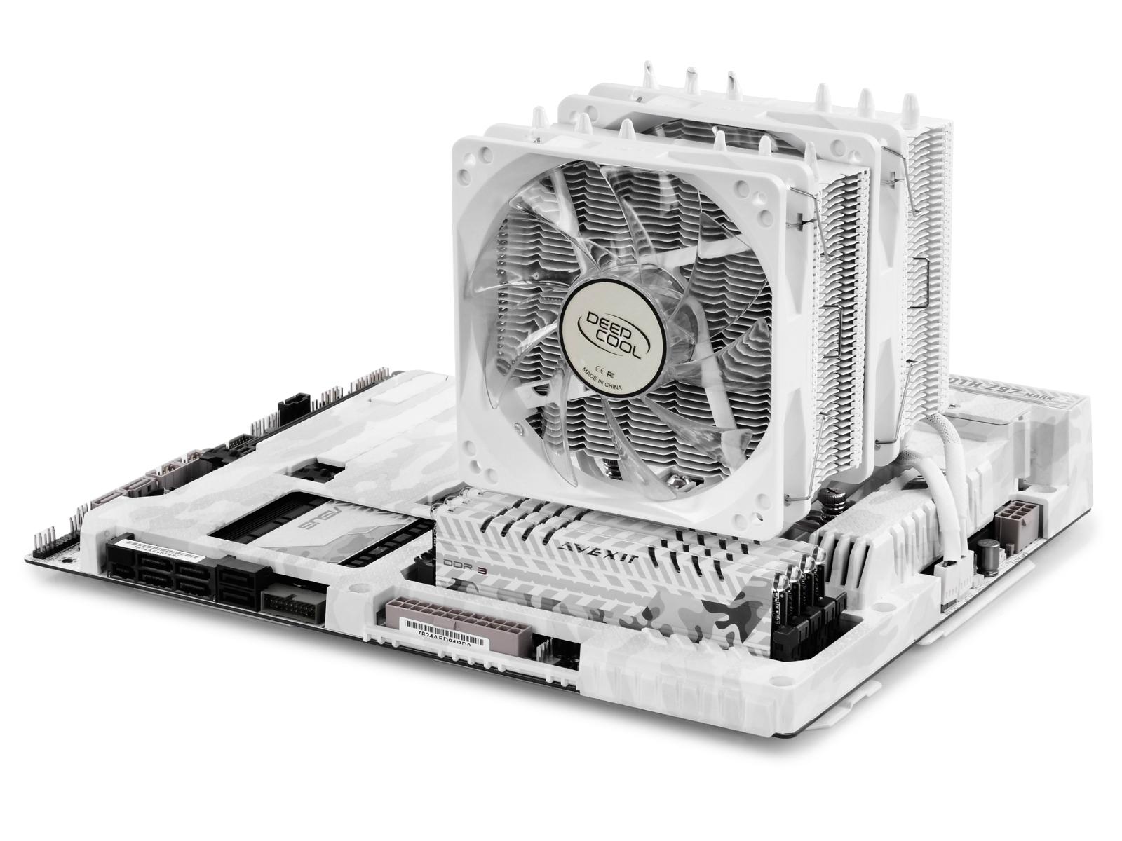 Bộ Tản Nhiệt Cho CPU Deepcool Neptwin White