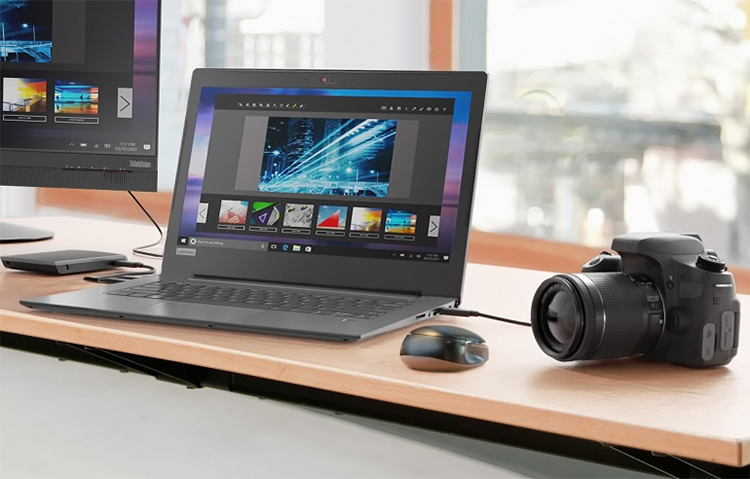 Laptop Lenovo V330-14IKBR 81B0008LVN Core i5-8250U/Free Dos (14 inch) - Grey - Hàng Chính Hãng