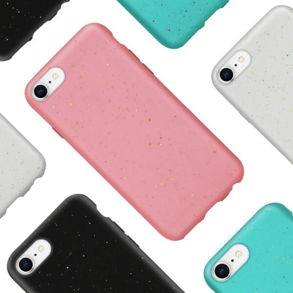Ốp Silicon Collen Chống Sốc Chống Vân Tay Cho iPhone 7/ 8 - Xanh/ Hồng/ Xám/ Đen