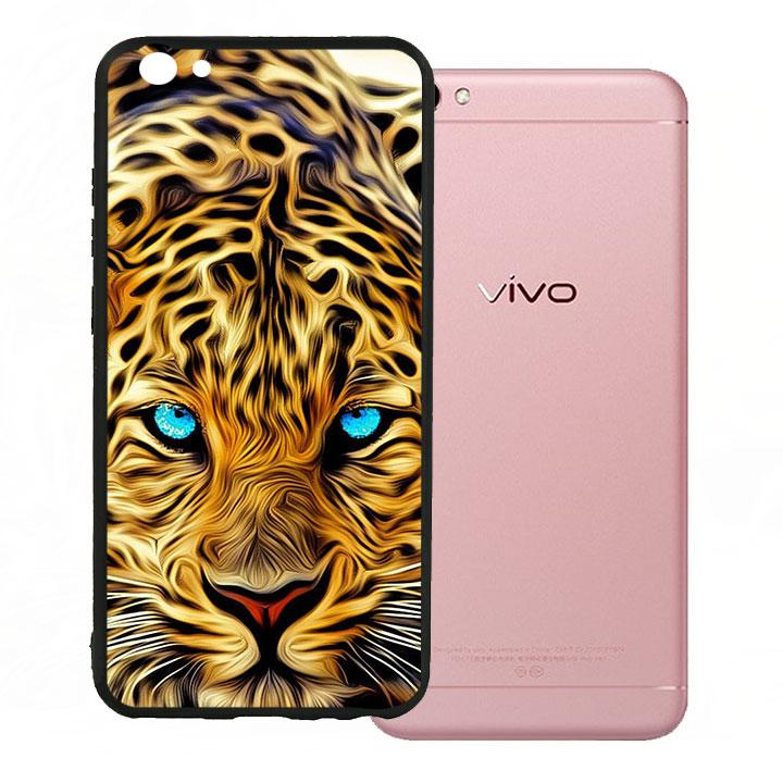 Ốp lưng viền TPU cao cấp cho Vivo V5 - Báo Đốm