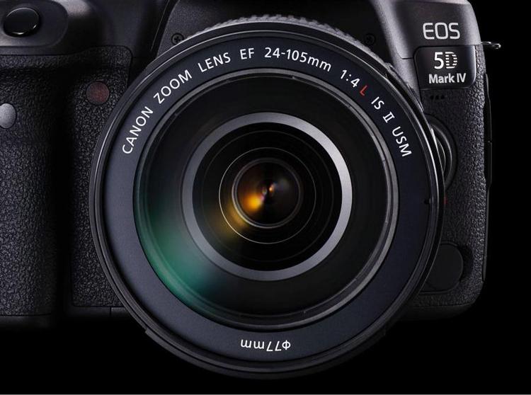 Lens Canon 24-105mm f/4 L IS II (Hàng Nhập Khẩu) - Tặng Tấm Da Cừu Lau Ống Kính
